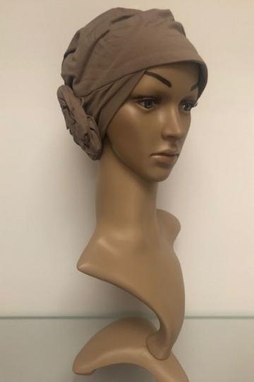 Bambusový turban s našitou čelenkou Wild Dove