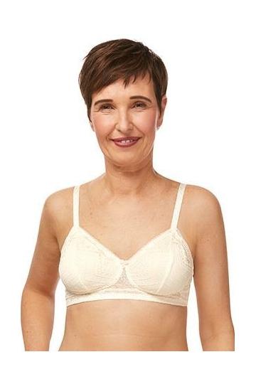 Amoena protetická podprsenka CARRIE SBP offwhite/light beige
