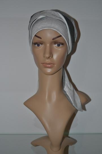 Zimní šátek s dlouhým vázáním